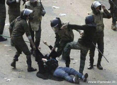 عریان کردن زنان مسلمان در میدان التحریر!! + عکس