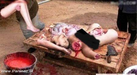 عکس هایی از قربانی کردن دختران در تایلند (18+)