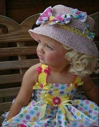 عکسهای دختری دو ساله که یک مانکن پولدار شده