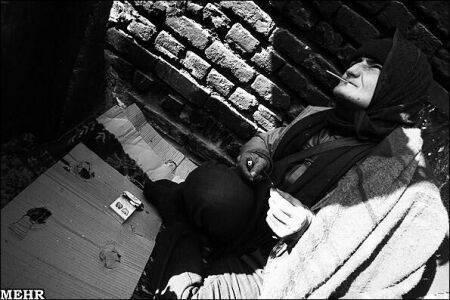 عکس هایی از زنان معتاد بی خانمان (16+)