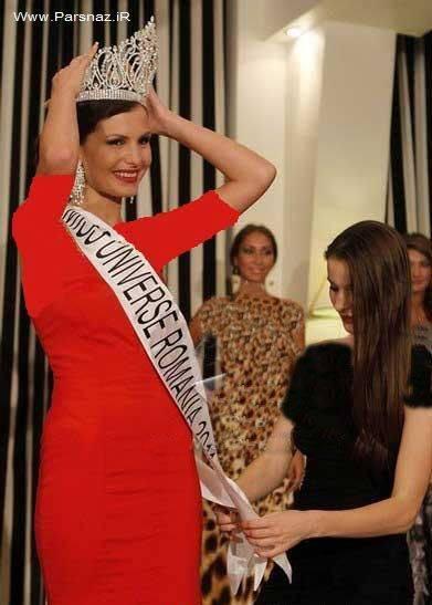 دختر شایسته رومانی،زبیاترین دختر رومانی نیز شد + عکس