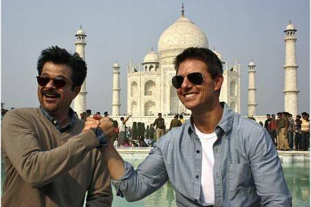 سفر ستاره ی هالیوود به هند + عکس