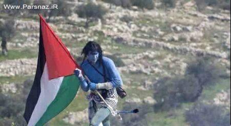 تظاهرات فلسطینی ها به سبک فیلم سینمایی آواتار + عکس