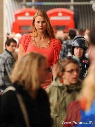 بلند قد ترین زن مدل جهان + عکس