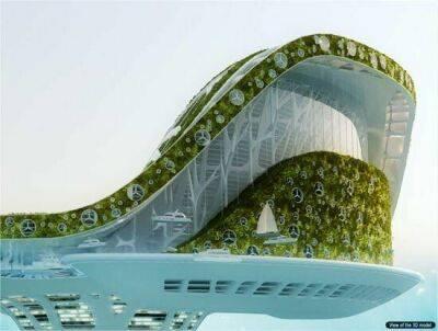 تصاویری از پروژه جدید شهر شناور در دبی