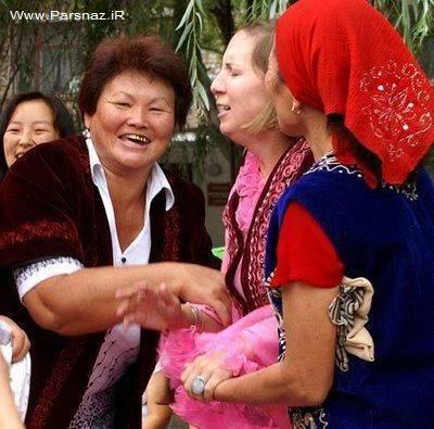 عروس دزدی، سنت جنجالی مردان قرقیزستان + عکس