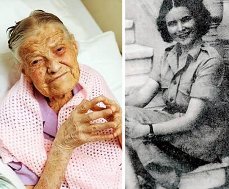 دختر 105 ساله آمریکایی که هرگز ازدواج نکرده است + عکس