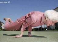 قویترین پیرزن 83 ساله در جهان + عکس