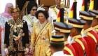 تاج گذاری پیرترین پادشاه کشور مالزی + تصاویر