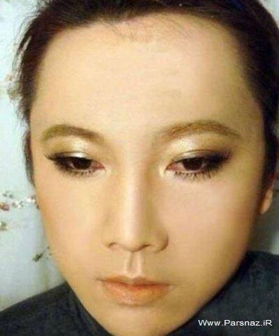 عکس هایی دیدنی از دختر زیبایی که پسر شد