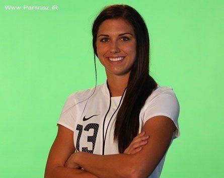 جوانترین و زیباترین ستاره فوتبال زنان این دختر است + عکس