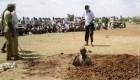سنگسار مردی به علت ارتباط نامشروع با یک زن + عکس