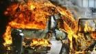دختر عصبانی ماشین دوست پسرش را آتش زد!! + عکس