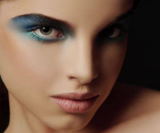 عکس های مدل های جدید آرایش صورت و چشم