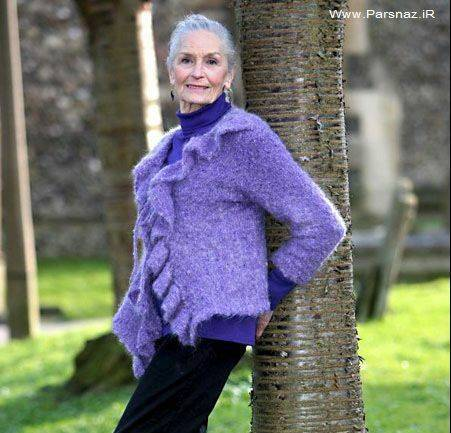 پیرترین مانکن جهان با 82 سال سن + عکس