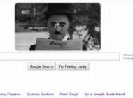 ادای احترام گوگل به چارلی چاپلین!! + عکس