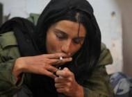 خاطره حاتمی در حال سیگار کشیدن!! + عکس