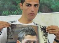 شباهت یک جوان ایرانی با کریستیانو رونالدو + عکس
