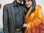 ازدواج زوجی که فقط 10 دقیقه یکدیگر را دیده بودند + عکس
