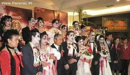 www.parsnaz.ir - عکس هایی از مراسم عروسی شیطان پرستان