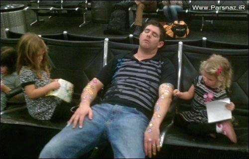 آیا دوست دارید وسط این دو دختر بخوابید + عکس