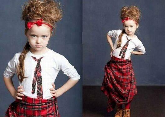 عکس های جذاب کریستانا دختر مدل چهار ساله
