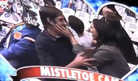 دختری که خواستگارش را مقابل دوربینهای تلویزیون کنفت کرد