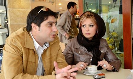 نیوشا ضیغمی و همسرش و این همه حاشیه + عکس