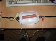 پخت سوسیس به روش دانشجویی + عکس