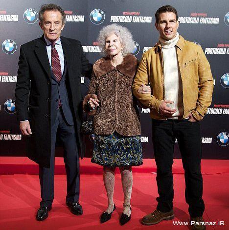 وقتی یک زن 85 ساله عاشق تام كروز می شود!! + عکس