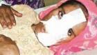 مجازات زن خیانتکار توسط خانواده همسر + عکس