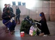 ظهور یک زن رابین هودی در چین + عکس