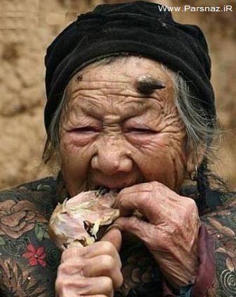عجیب ترین زنی که شاخ درآورده + عکس