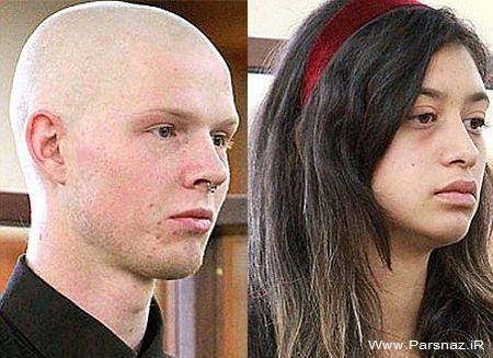 حمله به سبک خون آشام ها توسط دختر و پسر 19 ساله