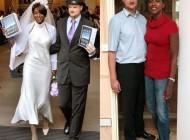 زن و شوهری با قد و قامتی عجیب + عکس
