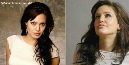 شباهت باور نکردنی بازیگر اسپانیایی به آنجلینا جولی + عکس