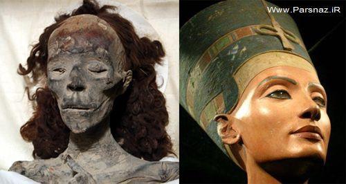 زیباترین ملکه مصر باستان!! + عکس