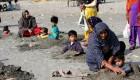 رسم خرافی مردم پاکستان به هنگام خورشید گرفتگی +عکس