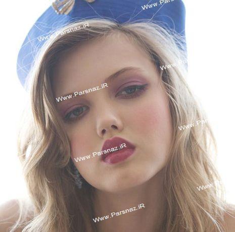 عکس هایی از زیباترین دختر 17 ساله مدل مشهور جهان