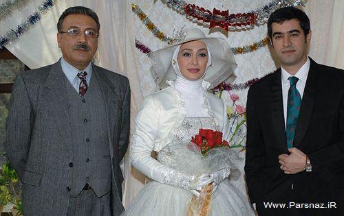آقا داماد شهاب حسینی و عروس خانم  + عکس