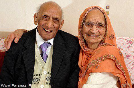 مسن ترین زوج جهان با ۸۶ سال زندگی مشترک + عکس