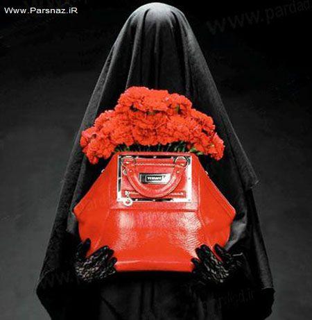 استفاده از مانکن های باحجاب برای جلب مشتری