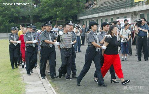 عکس هایی از رسم عجیب زنان محکوم به اعدام در زندان چین
