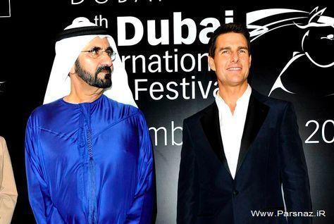 حضور هنرپیشه معروف هالیوود در دبی + عکس