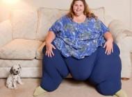 سنگین وزن ترین زن زنده جهان + عکس