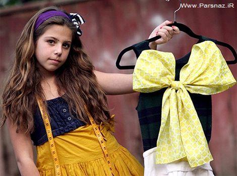 دختری که دنیای مد را شگفت زده کرده است + عکس