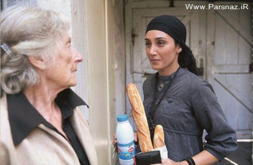 هدیه تهرانی در فیلم یک روز دیگر رو به روی بازیگران فرانسوی