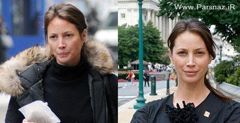 عکس هایی از زنان ستاره های هالیوودی قبل و بعد از آرایش