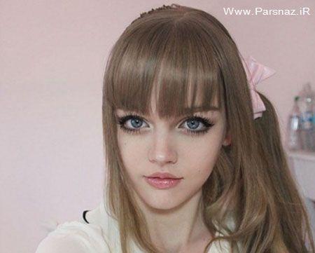 عکس   عکسهای دختری زیبا شبیه عروسک باربی