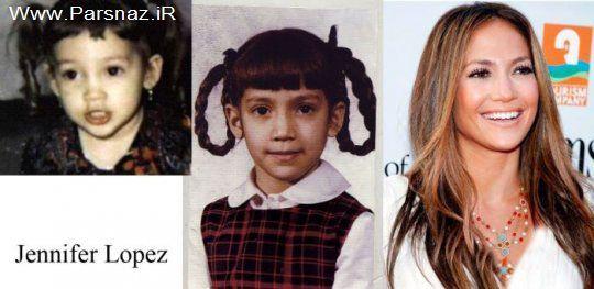 www.parsnaz.ir - عکس های از مقایسه چهره بازیگران و هنرمندان مشهور جهان